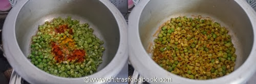 beans poriyal step by step