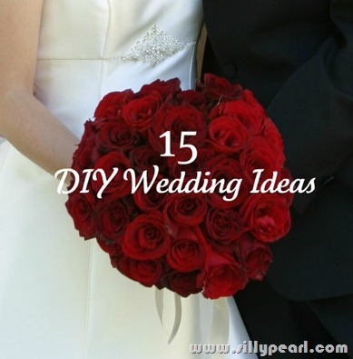 15 DIY Wedding Ideas