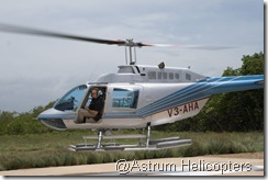 Bell 206 Take Off
