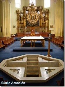 Iglesia de la Virgen de la Paloma - Interior