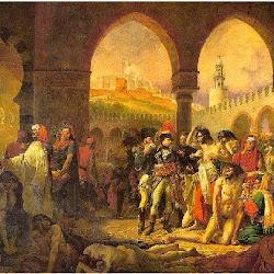 59 - Gross - Napoleon visitando a los apestados de Jaffa