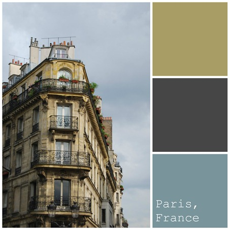 paris colours