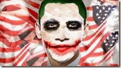 Obama coringa assassino