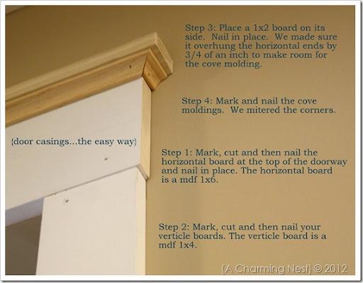 IMG_1840 & A CHARMING NEST: DIY Door Casingsu2026the easy way. pezcame.com