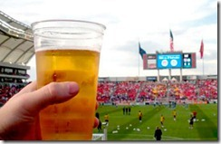 Cerveza en los estadios de Brasil