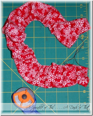 santa shirt step 6 {A Sprinkle of This . . . . A Dash of That}