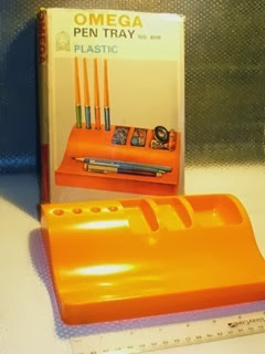 Orange Omega model 606 pen tray