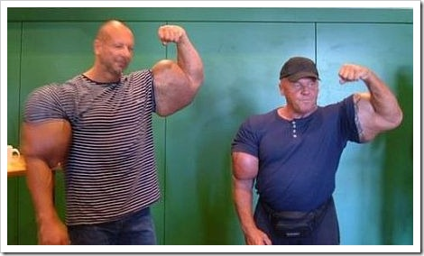 Funny fail body building picture.