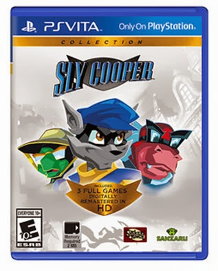 Capa oficial de Sly Cooper Collections