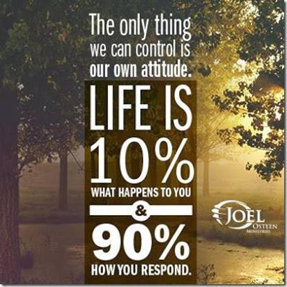 control our attitude