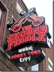 9657 Nashville, Tennessee - Discover Nashville Tour - downtown Nashville Broadway Street -The Second Fiddle Honky Tonk