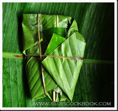 To enhance flavor, wrap in banana leaf and pan fry for 3 minutes