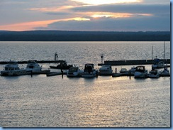 2764 Wisconsin US-2 East - Ashland - Best Western Hotel Chequamegon - sunset over Lake Superior  we can see from our room