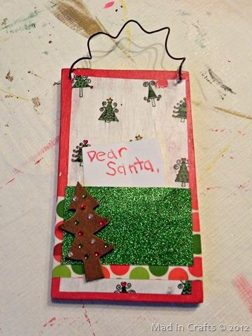 insert letter to santa