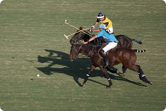 Polo-players-on-horses-crossing-sticks