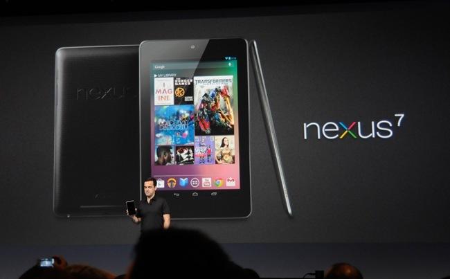 Nexus 7: Το νέο tamplet της Google στα 199 δολάρια (video)