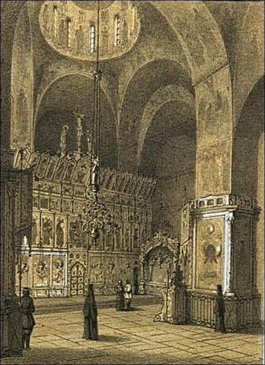 Trinity_Cathedral_in_Sergiev_Posad_interior_1856