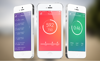 iPhone Every Day Activity Tracking App