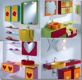 Baños Modernos para Niños4