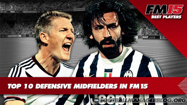 Top 10 Defensive Midfielders  in Football Manager 2015