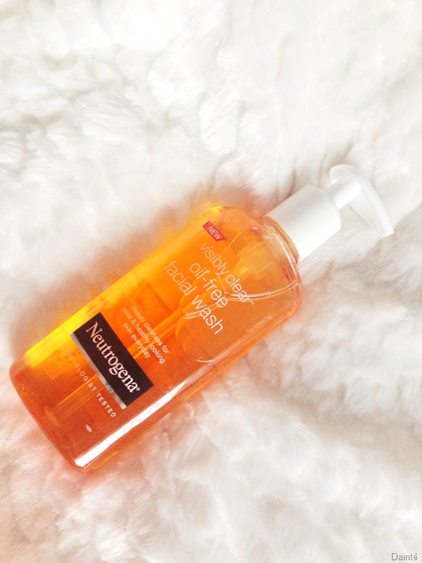 face wash neutrogena orange foam gel dainte shop
