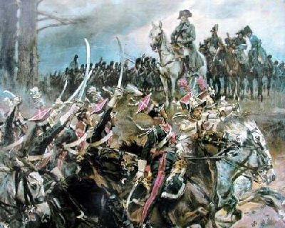 Szwoleżerowie przed Napoleonem