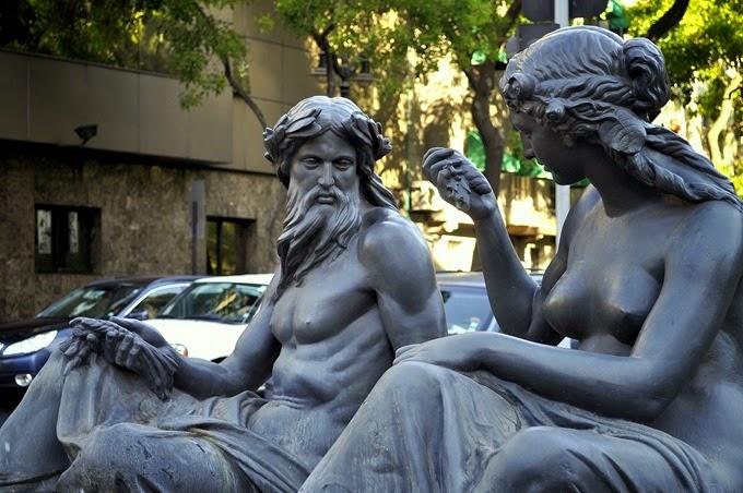 fuente de Neptuno y Anfitrite