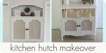 kitchen hutch makeover