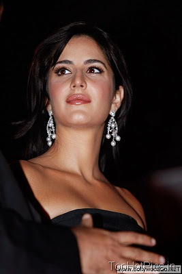 Katrina Kaif in Cute Black Dress Images 3