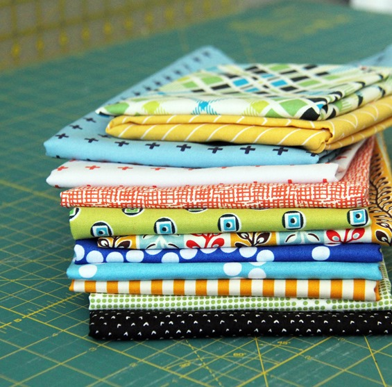 Fabric Stack, Cluck Cluck Sew