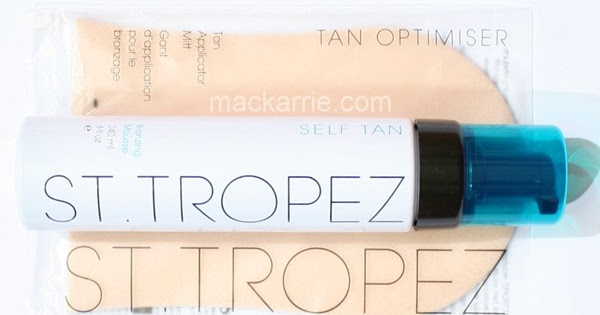 mackarrie beauty style blog st tropez self tan bronzing. Black Bedroom Furniture Sets. Home Design Ideas