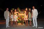 Chandon recreó una verdadera fiesta hawaiana en Punta del Este, durante la sexta edición de su tradicional Fiesta de Blanco. Gentileza: Feedback.