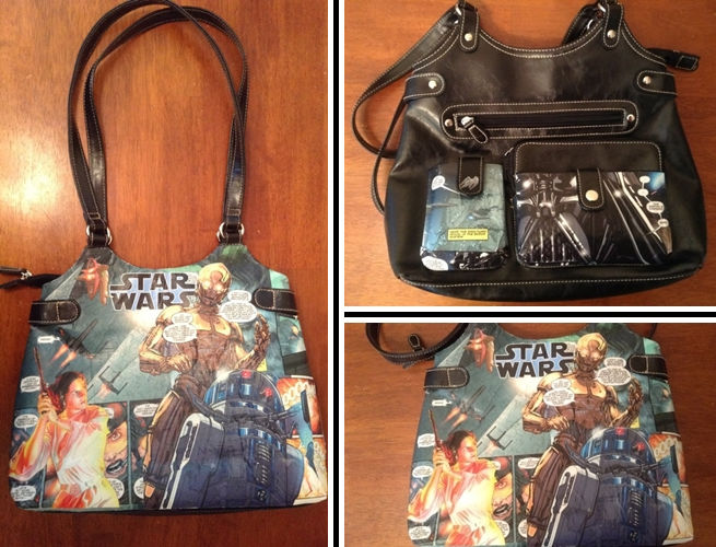 Star Wars Decoupage Purse from Panic Moon Deco