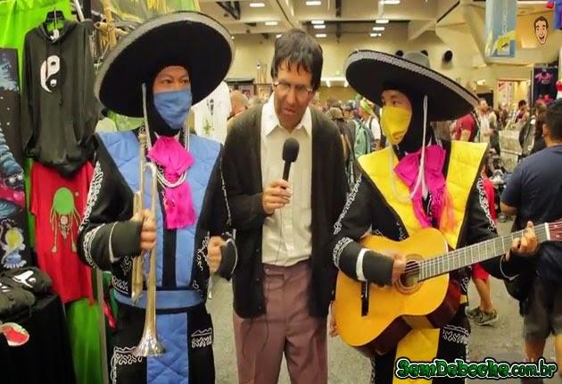 SUB-ZERO E SCORPION MEXICANOS!
