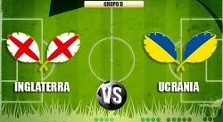 Inglaterra vs Ucrania en VIVO online
