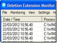 Scoprire quali file sono stati cancellati dal computer e quando - Deletion Extension Monitor