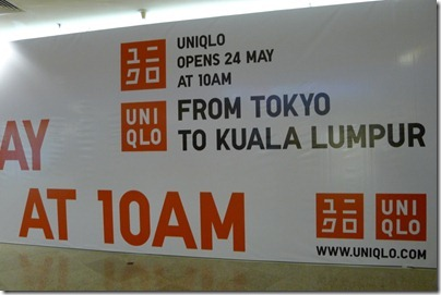 Uniqlo Opening @ Mid Valley