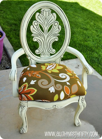 glazed chair