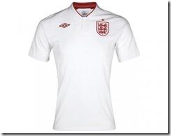 Inglaterra primera equipación