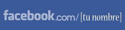 Cómo elegir el nombre de usuario para la dirección URL de mi perfil de Facebook