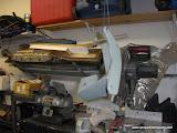 Custom motor mount primered