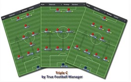 Tactical diversity in Football Manager 2013