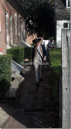 A colonial man