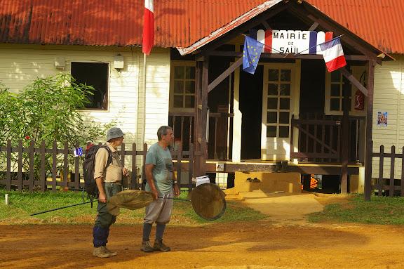Saül (Guyane). 1er décembre 2011. Photo : J.-M. Gayman