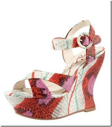 Alice Olivia Juliet Snake Sandal