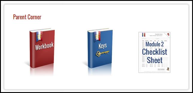 French Essentials Parent Corner