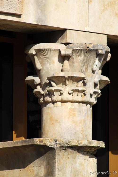 apoyo sobre apoyo - templo de debod - madrid