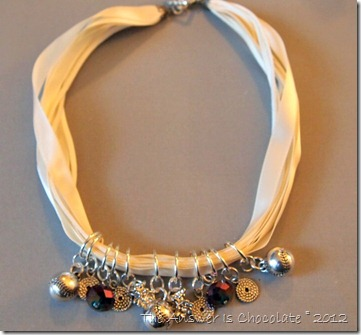Charming Softball Necklace