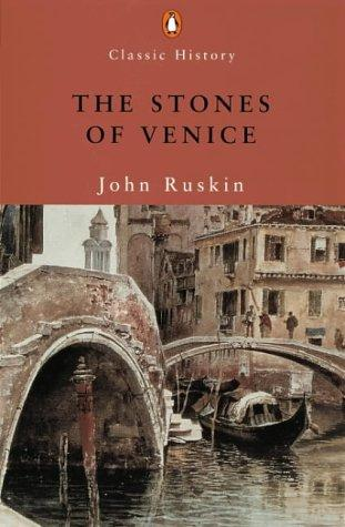 So many artists have fallen in love with Venice. John Ruskin in particular, an art critic and draftsman, found inspiration in the architecture and design of the city. He compiled this book, 'The Stones of Venice' in its honor -- it is a true masterpiece.