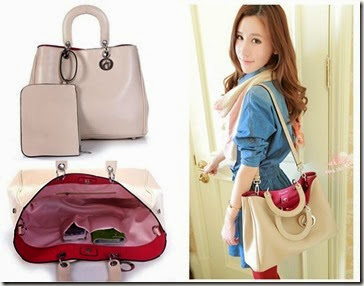 SY 713 Beige (193.000) - PU Leather, 26 x 35 x 10, talpan